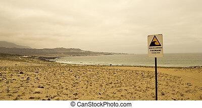 hazard., tsunami, norte, chile