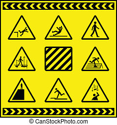 Hazard Warning Signs 4