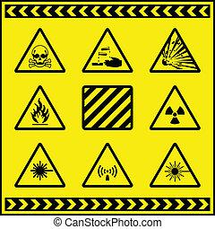 Hazard Warning Signs 5