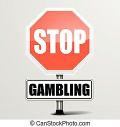 hazard, zatrzymywać