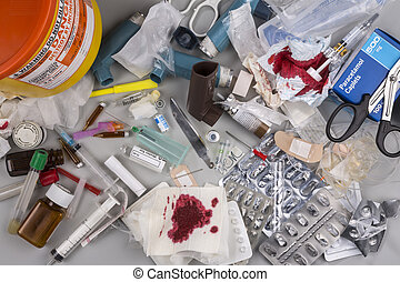 Hazardous Medical Waste - Hazardous medical waste that needs...