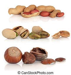 Hazelnut, Pistachio and Peanut Selection