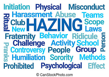 Hazing Word Cloud