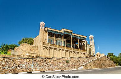 Hazrat Khizr Mosque in Samarkand, Uzbekistan