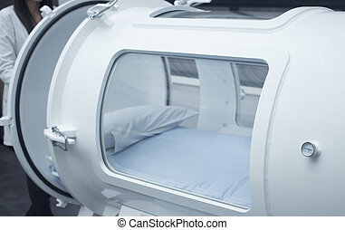 HBOT Hyperbaric Oxygen Therapy treatment chamber -...
