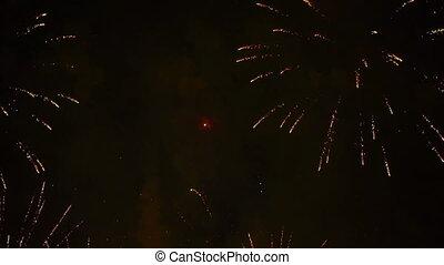 hd, -, święto, fajerwerki