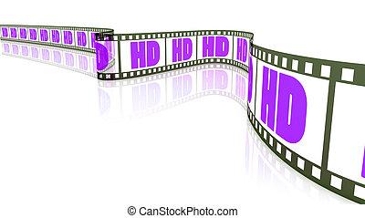 hd, フィルム