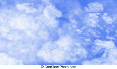 HD 1080 - Beautiful clouds Loopable
