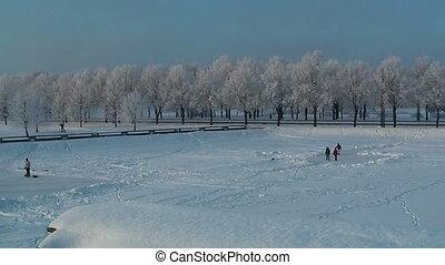 HD 1080 - Winter vacation_panorama