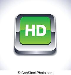 HD 3d button.