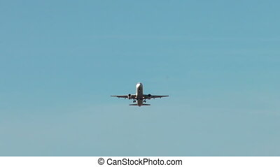 HD - Airplane in the sky Airbus A321