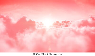 hd., animation., fait boucle, heaven., 3d