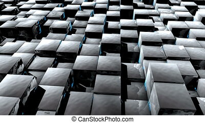 HD Background with nice abstract cubes