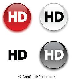 HD button.