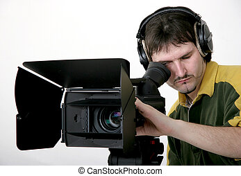 hd-camcorder, stand
