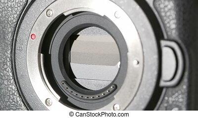 HD - Camera sensor. Shutter works