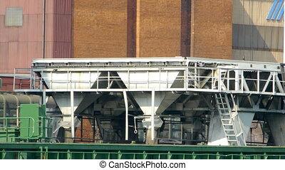 HD - Cargo crane in port scene3