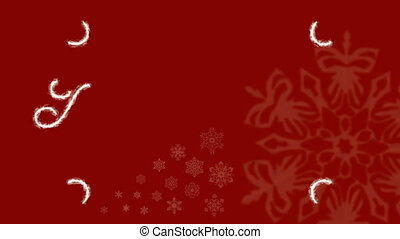 HD - Christmas Frost Ornament Red