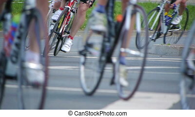 HD- Cycling Marathon. Bicycle wheel - HD - Cycling Marathon....