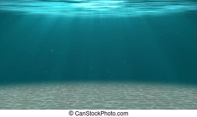 HD - Deep water. Underwater BG