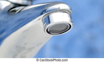 HD - Drop of water from tap