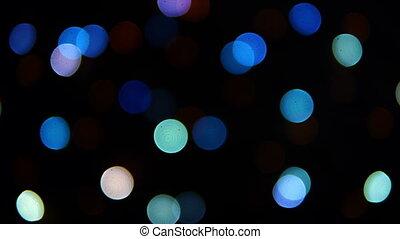 HD - Fast blinking lights