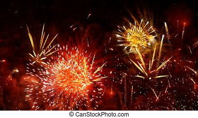 HD - fireworks show