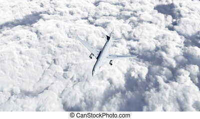HD - Flying Boing 767