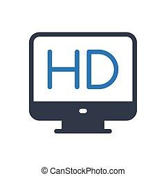 HD glyph color icon