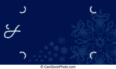HD - Holidays Frost Ornament Blue