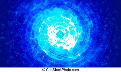 HD Loopable Background with nice abstract whirlpool