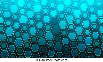 HD Loopable Background with nice blue abstract