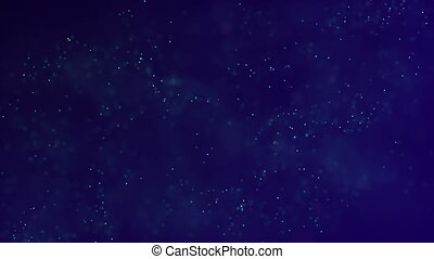 HD Loopable Background with nice blue particles