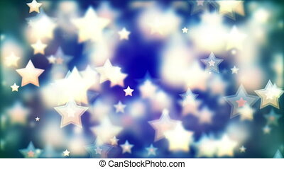 HD Loopable Background with nice flying stars