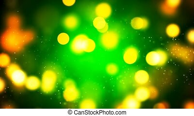 HD Loopable Background with nice golden bokeh