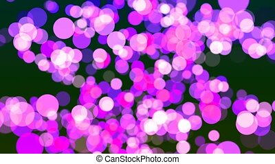 HD Loopable Background with nice magenta bokeh - HD Loopable...