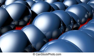 HD Loopable Background with nice abstract balls