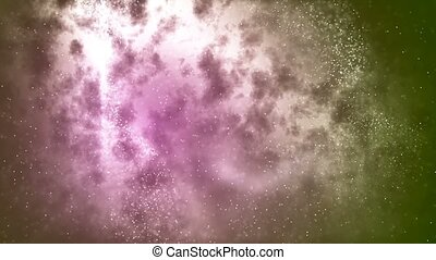 HD Loopable Background with nice abstract star nebula