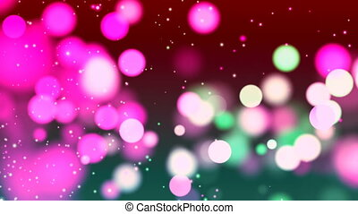 HD Loopable Background with nice abstract pink bokeh