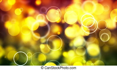 HD Loopable Background with nice yellow bubbles