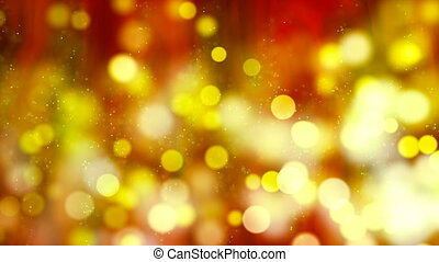 HD Loopable Background with nice yellow sparks