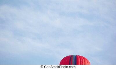 hd, -, lucht, balloon