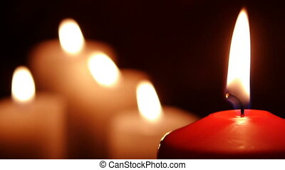 HD - Red candle