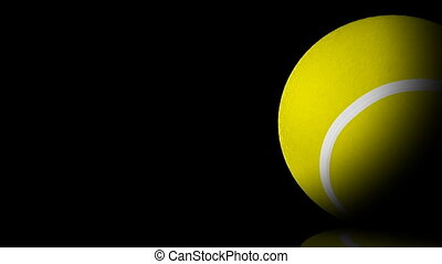 HD - Tennis ball. background