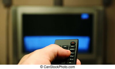 HD - TV channel surfing