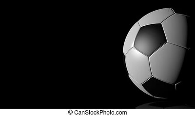 hd, voetbal, -, ball., achtergrond