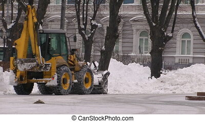 HD - Work snowplows