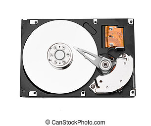 HDD on white
