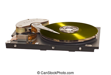 HDD with vinyl disk