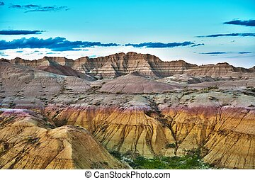 HDR Badlands Formations